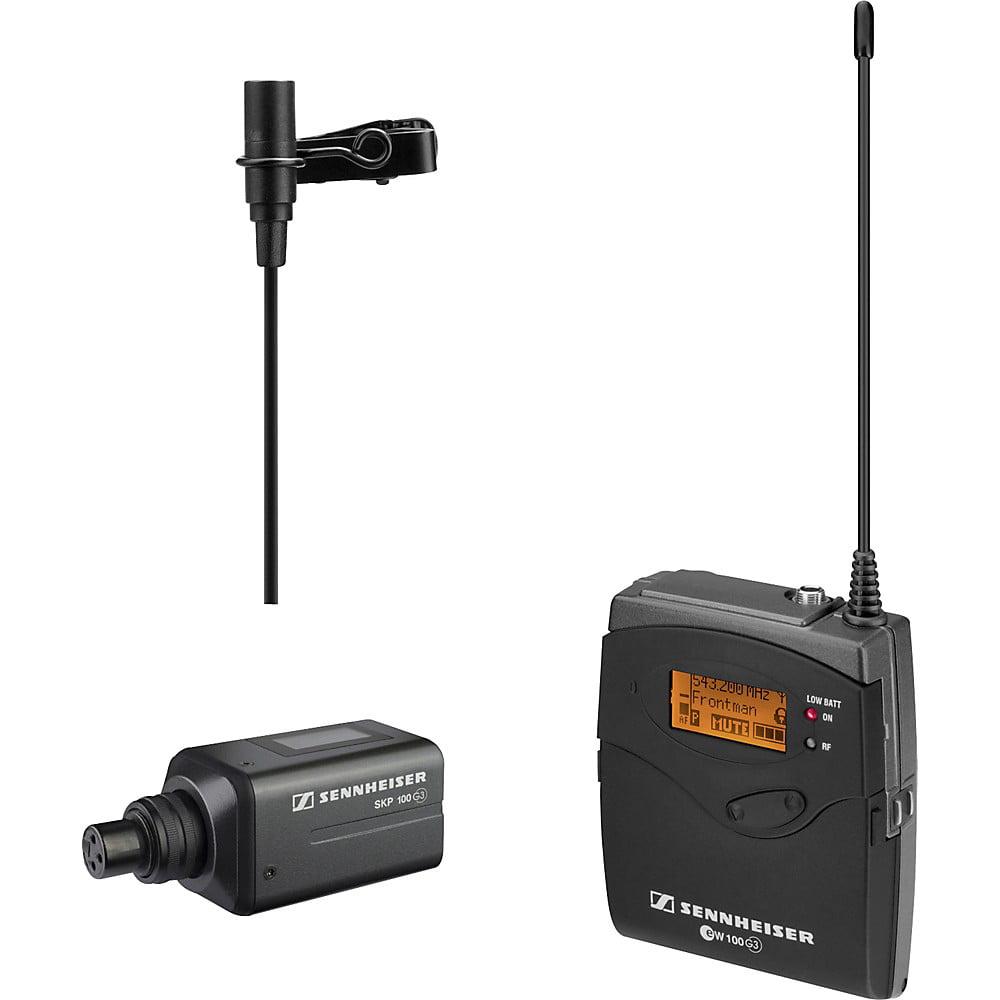 Sennheiser ew 100 ENG G3 Lavalier Microphone Presentation...