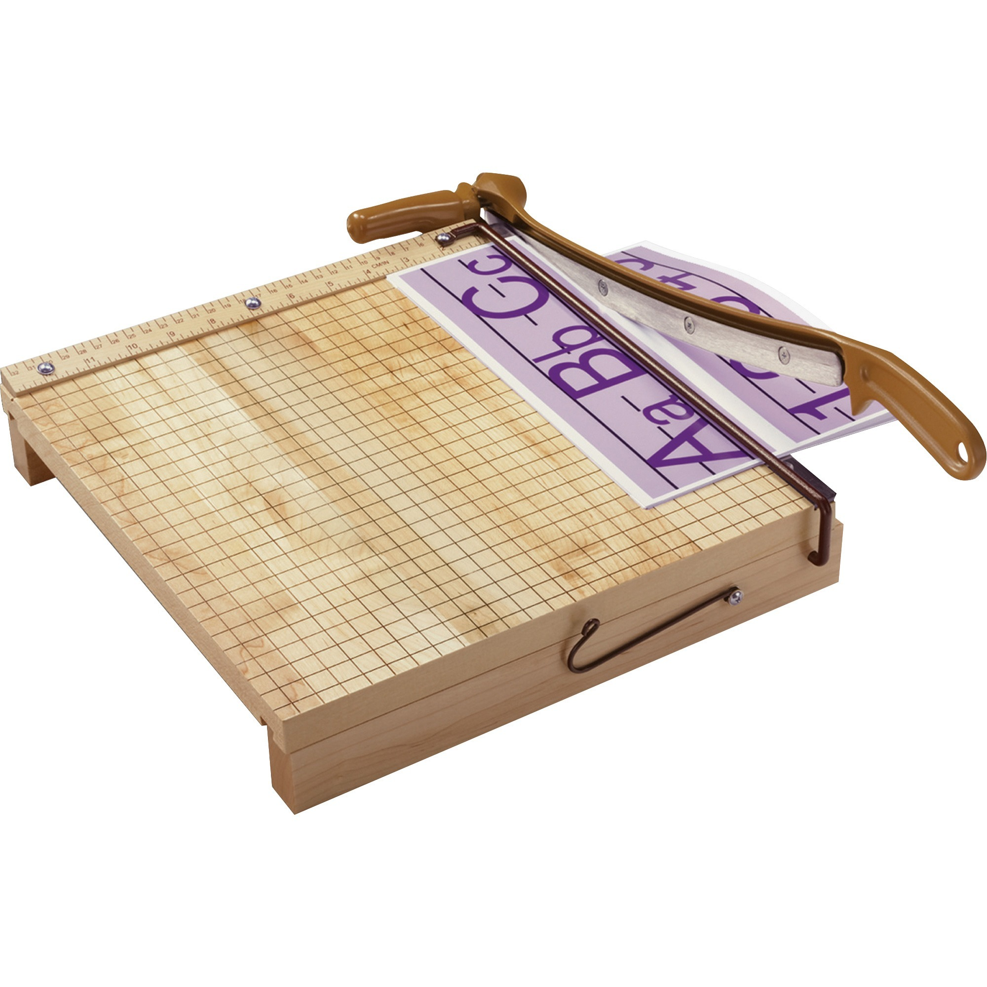 "Swingline ClassicCut Ingento 12"" Square Paper Trimmer, Solid Maple Base"