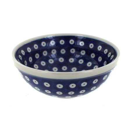 Polish Pottery Dots Cereal/Soup Bowl
