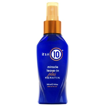 It's A 10 Miracle Leave-In Plus Keratin, 4 Oz