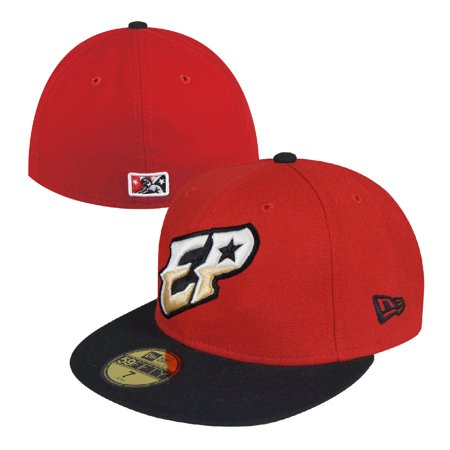 8dff147378893 El Paso Chihuahuas New Era MiLB Alternate Color Road Fitted Hat (Red ...