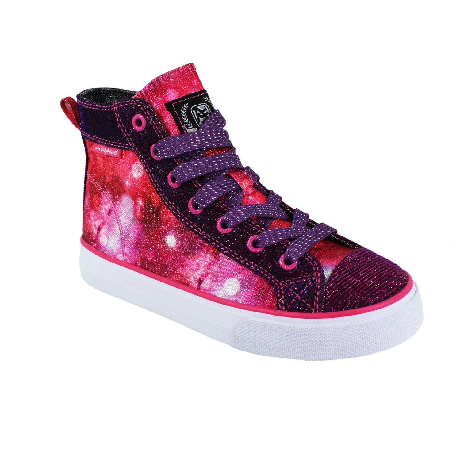 Image of Airspeed Girl's High-top Canvas Sneaker - Exclusive Color