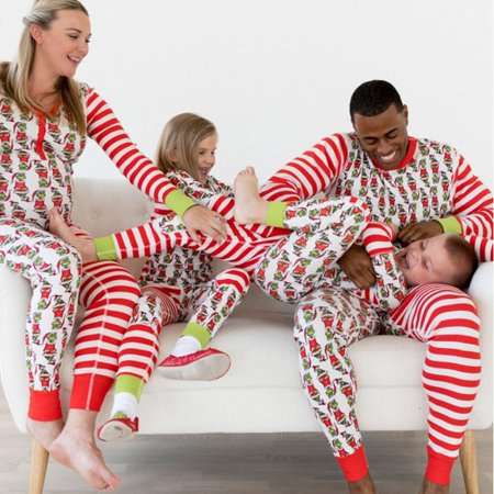 855 Festival Family Matching Outfit Father Mother Kids Clothing Sets Pyjamas - image 8 of 9