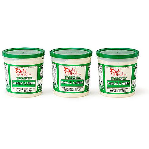 Deli Direct Spread 'Um Garlic & Herb Cheese Spread, 45 oz