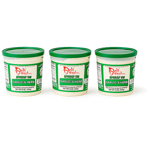Deli Direct Spread 'Um Garlic & Herb Cheese Spread, 45 oz