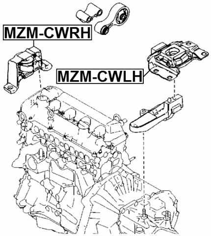 Rat Rod Engine Mount
