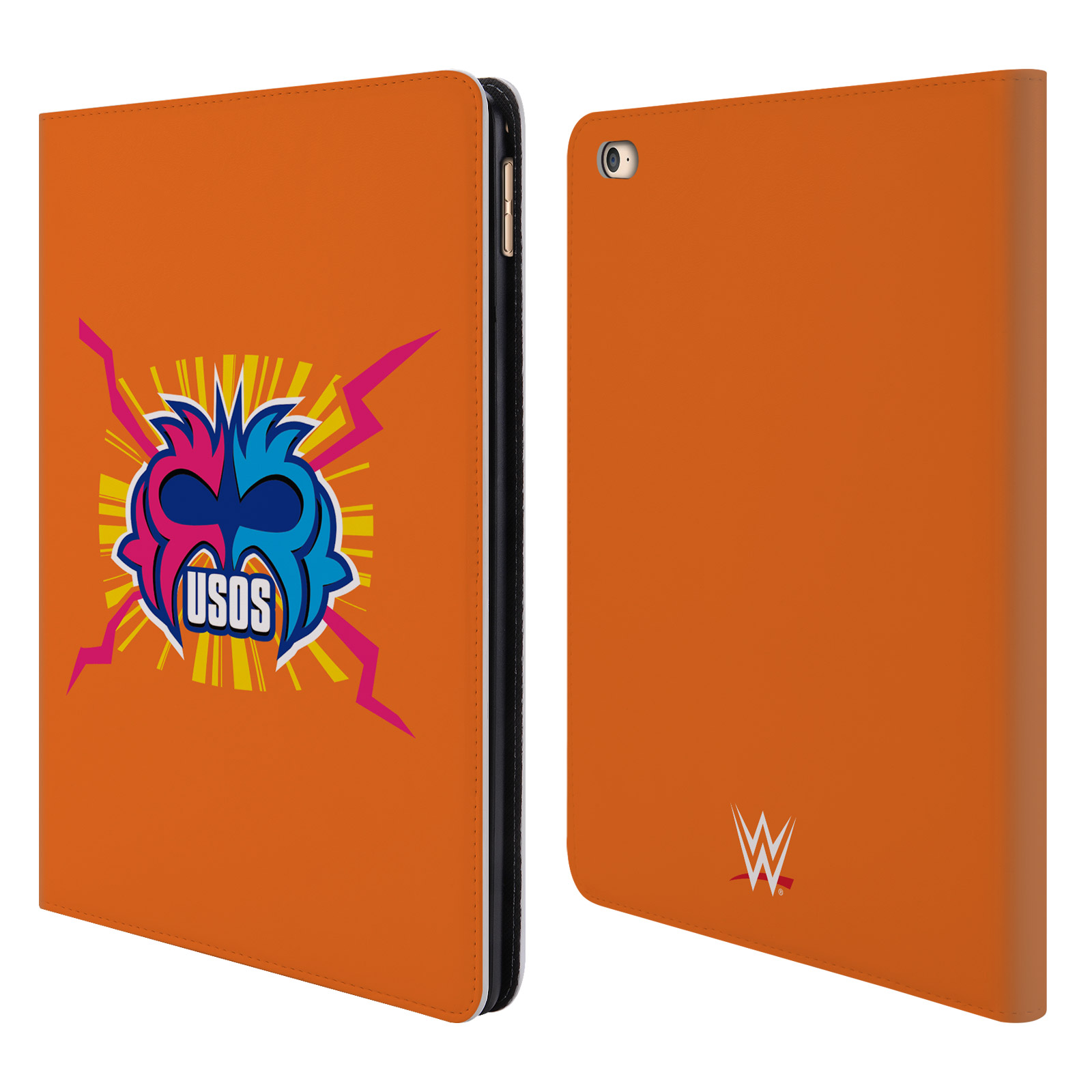 OFFICIAL WWE THE USOS LEATHER BOOK WALLET CASE COVER FOR APPLE IPAD
