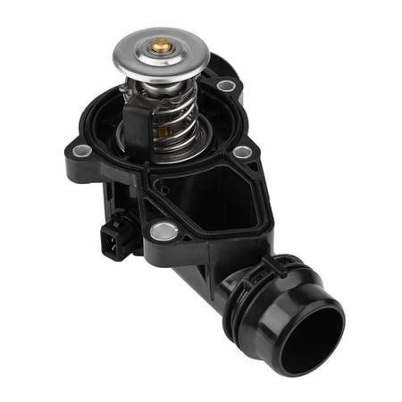 Bmw 325i Thermostat - Zerone Car Thermostat Assembly with Sensor for BMW E39 E46 Z3 Z4 X5 X3 325i 330i 525i 530i, Thermostat, Thermostat with   Sensor