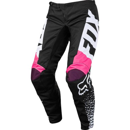 Fox 180 Girls Kids Pants Black/Pink (Black, 5) Fox Youth 180 Pants