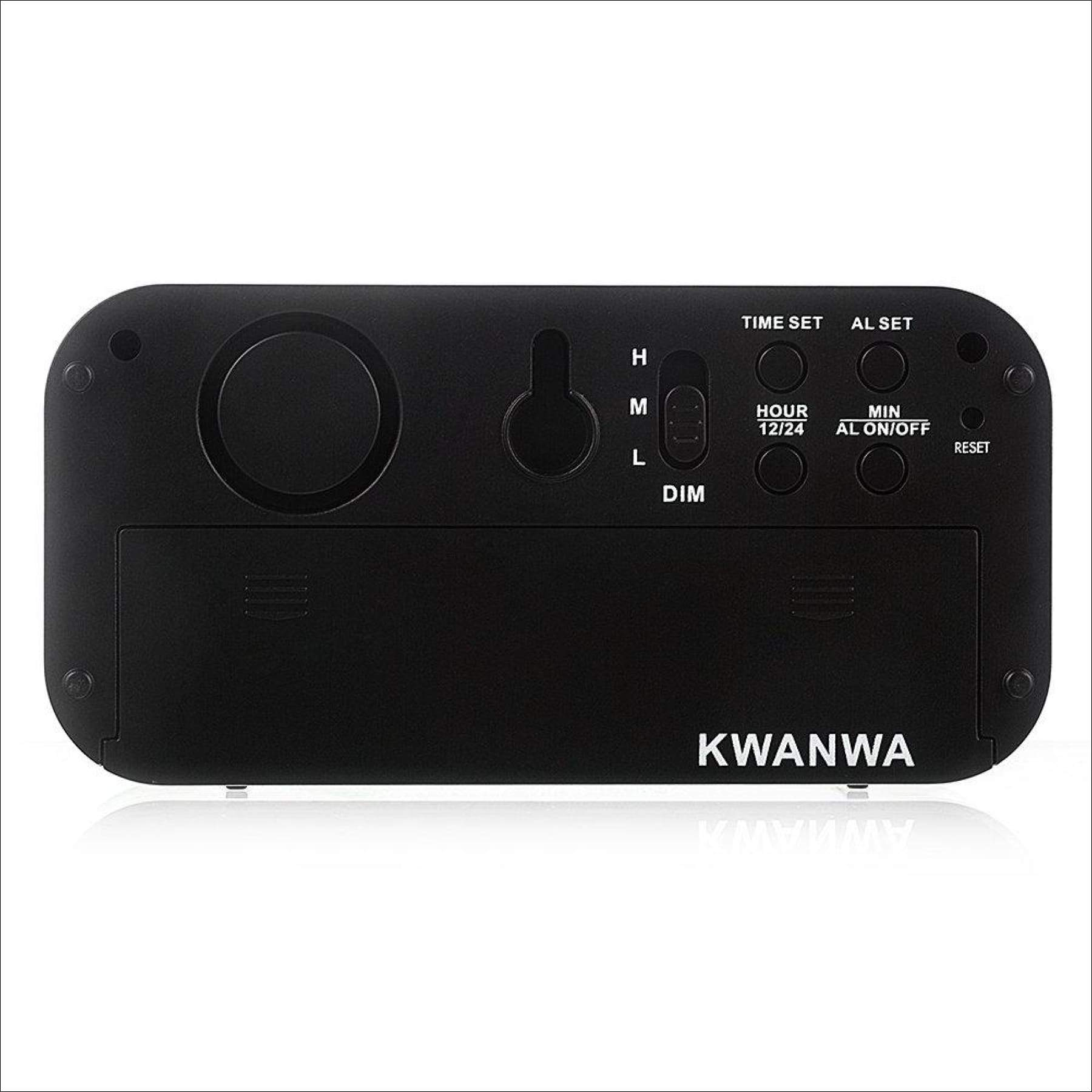 Kwanwa Led Digital Alarm Clock Battery