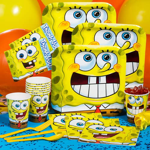 Spongebob Classic Party Pack for 8