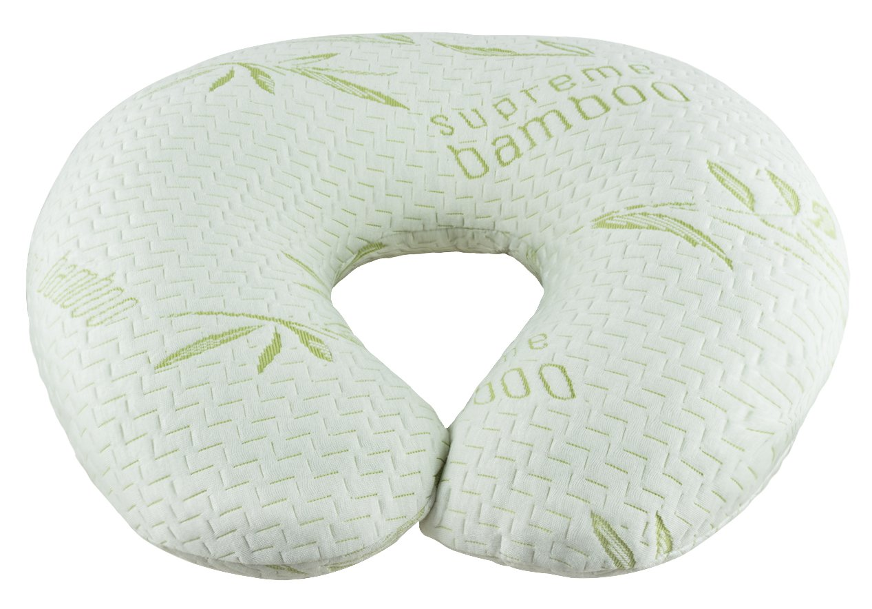 Supreme Bamboo Nursing Pillow for Baby Breastfeeding Infant support by Supreme Bamboo