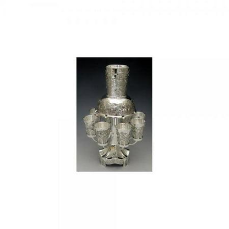 Jerusalem Style Nickel Fountain, 8 Cups