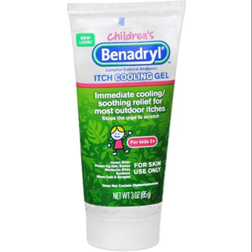 Benadryl Children's Anti-Itch Gel 3 oz (Pack of 6)