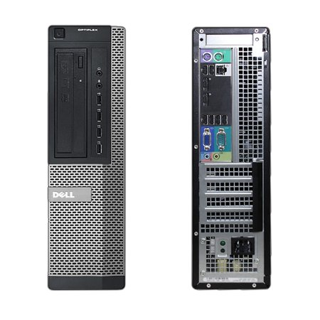 Refurbished - Dell OptiPlex 7010, DT, Intel Core i5-3550 up to 3.70 GHz, 32GB DDR3, 500GB HDD, DVD-RW, Wi-Fi, USB to HDMI Adapter, NEW Keyboard + Mouse, No OS - image 2 of 3