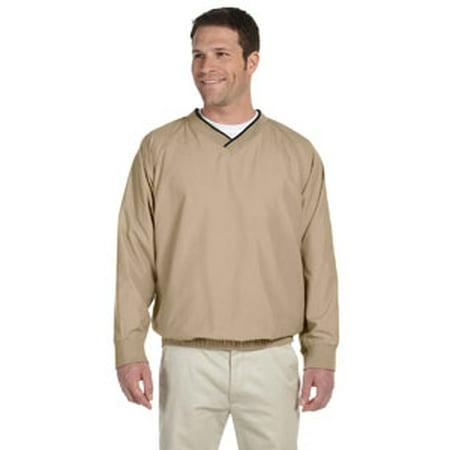 Harriton Adult Microfiber Wind Shirt (Microfiber Wind Jacket)
