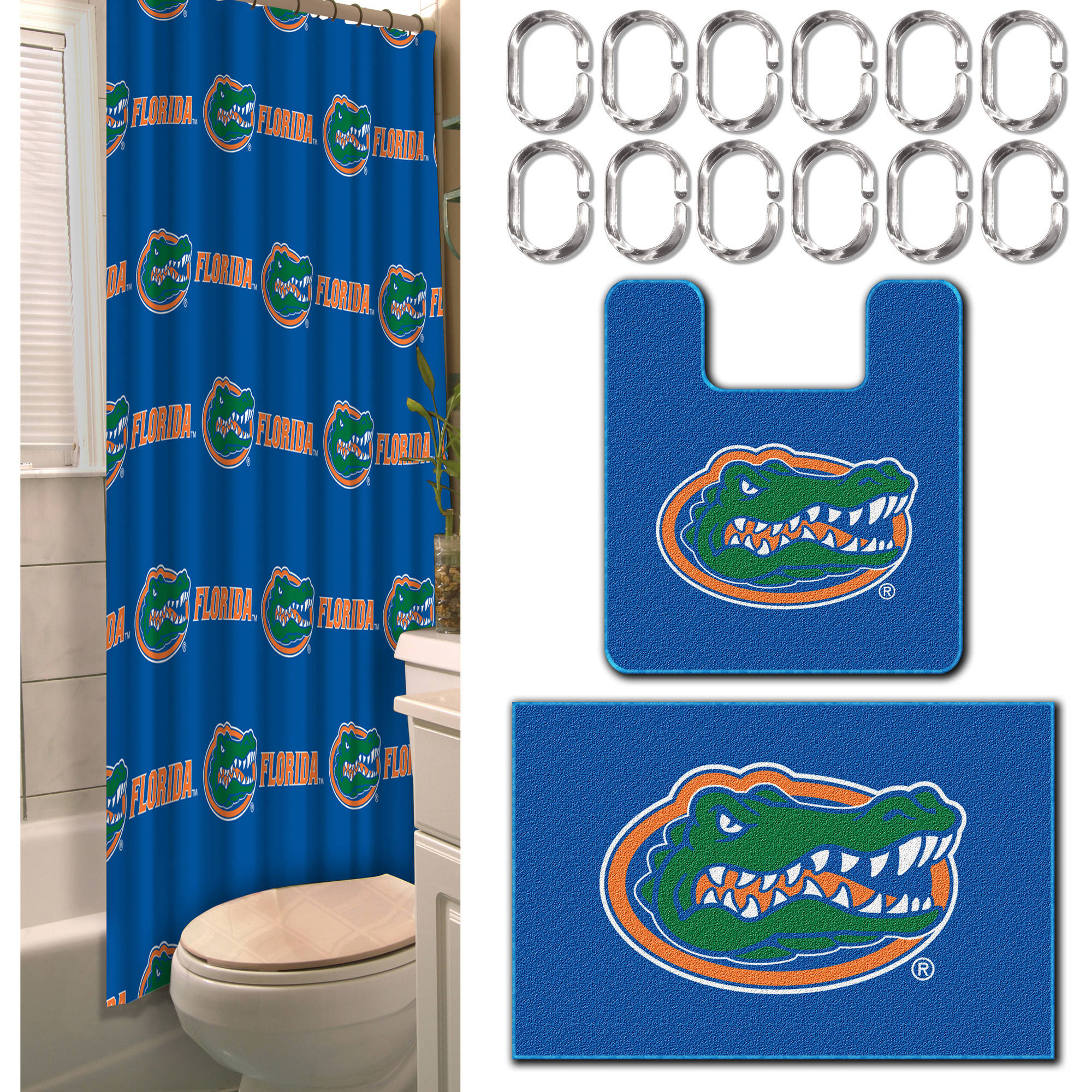 Bon NCAA Florida Gators 15 Piece Bath Set
