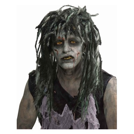 Rocker Zombie Wig Adult Halloween Accessory