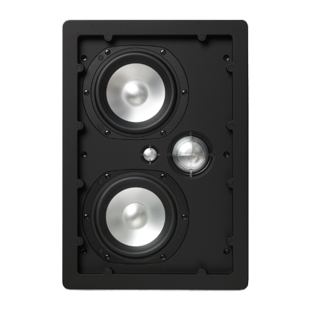 NHT iW4-ARC 3-Way In-Wall Home Theater Speaker with Aluminum Driver, 150 Watts (Matte White, Single)