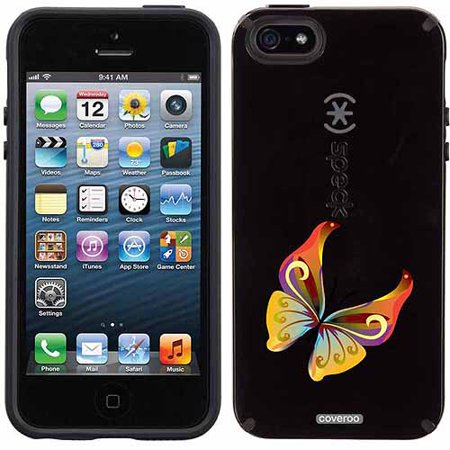timeless design 7348e 01e8f Butterfly Multicolor Design on Apple iPhone 5SE/5s/5 CandyShell Case by  Speck