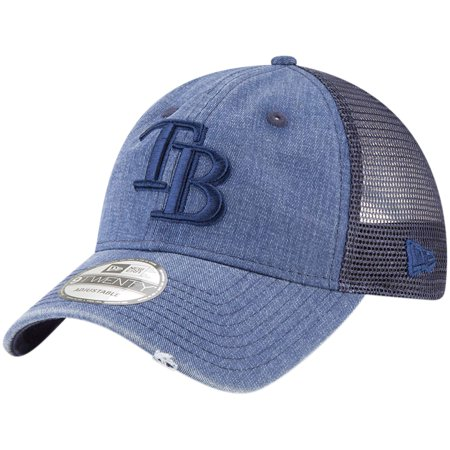 Tampabayrays Com (Tampa Bay Rays New Era Tonal Washed 9TWENTY Adjustable Hat - Navy -)