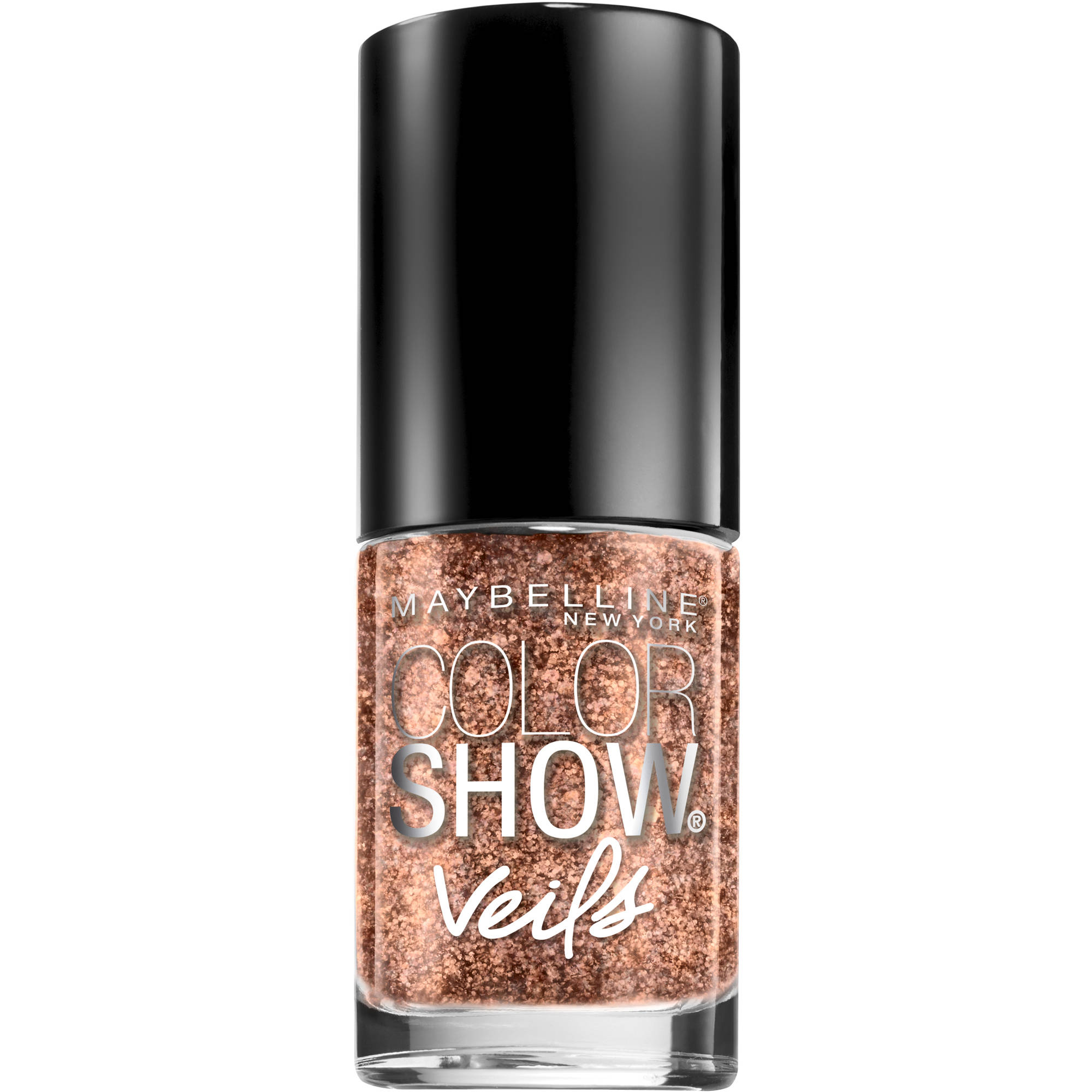 Maybelline New York Color Show Veils Nail Lacquer Top Coat, Rose Mirage, 0.23 fl oz, Rose Mirage