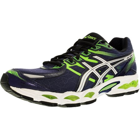 ASICS Gel-Evate 3 Men Midnight/Lightning/Flash Green Running Shoes