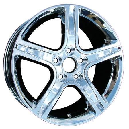 (New 17x7 Aluminum Alloy Wheel, Rim Chrome Plated - 74157)