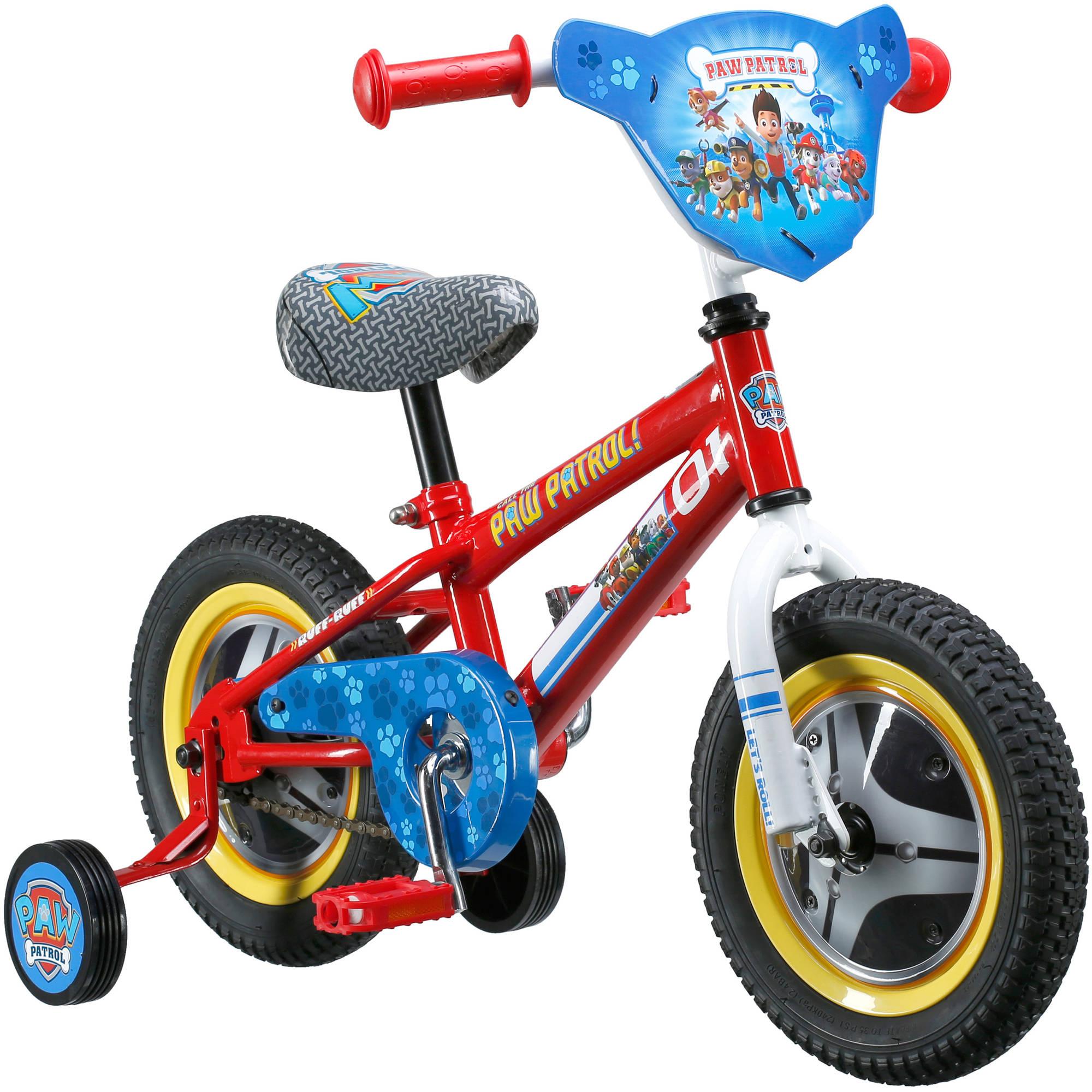 f6b85efb663 Paw Patrol Nickelodeon Kids Bicycle 12