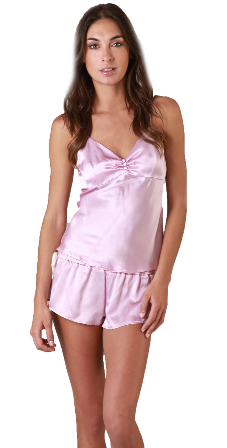Zinke Intimates Women's Goodnight Lovely Shorts, Large, Orchid