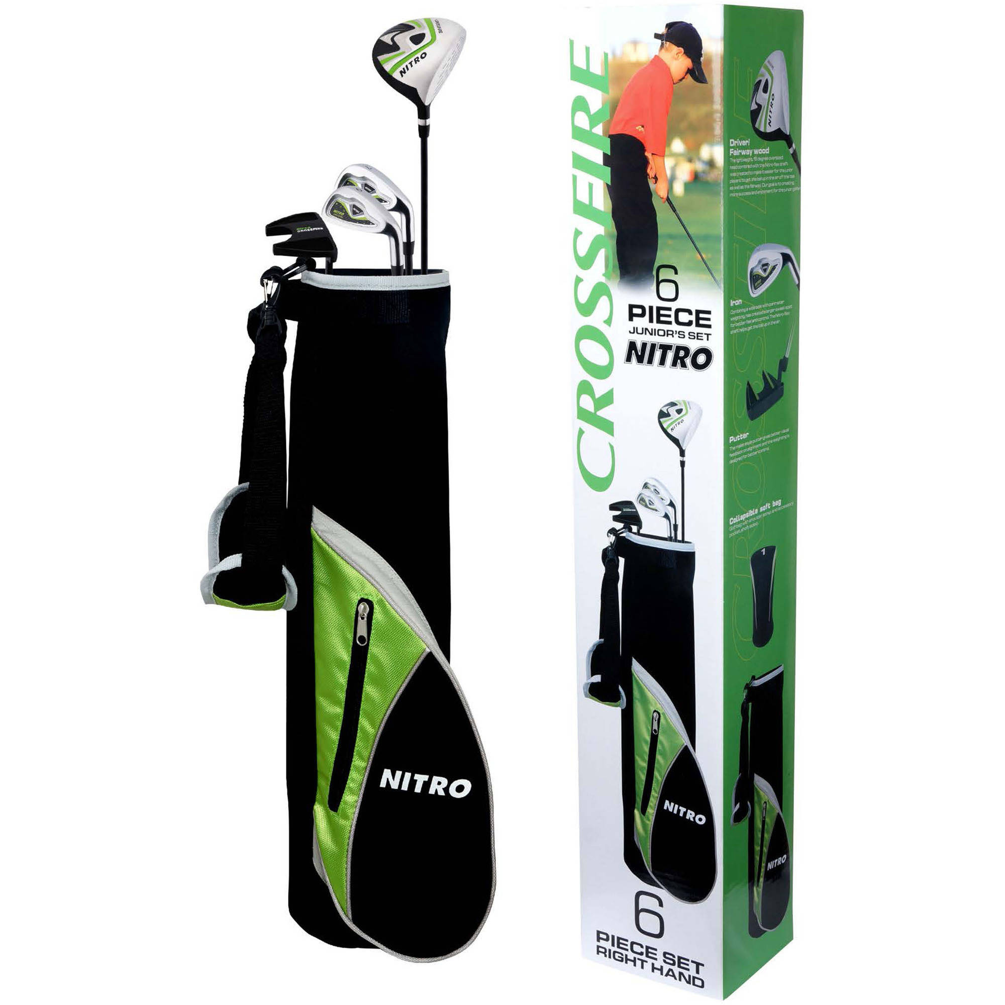 Nitro Golf Set, Junior, 8-Piece