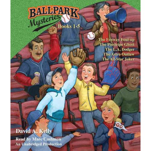 Ballpark Mysteries Collection: The Fenway Foul-Up / the Pinstripe Ghost / the L.A. Dodger / the Astro Outlaw / the All-Star Joker
