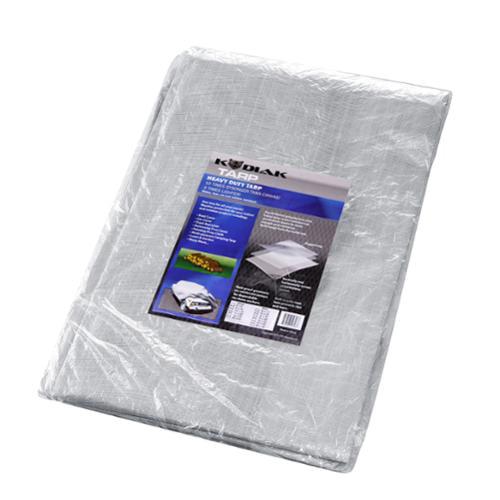 Kodiak Tarps Grey 12' x 20 Tarp Cover For Shade Motorcycles Cars or Pools