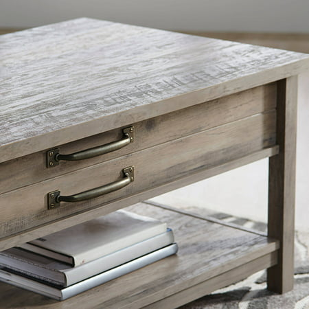Better Homes & Gardens Modern Farmhouse Lift-Top Coffee Table, Rustic Gray Finish - Best Lift ...