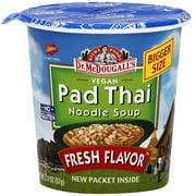 Dr. McDougall's Thai Pad Noodle Big Cup Soup, 2.0 oz (Pack of 6)