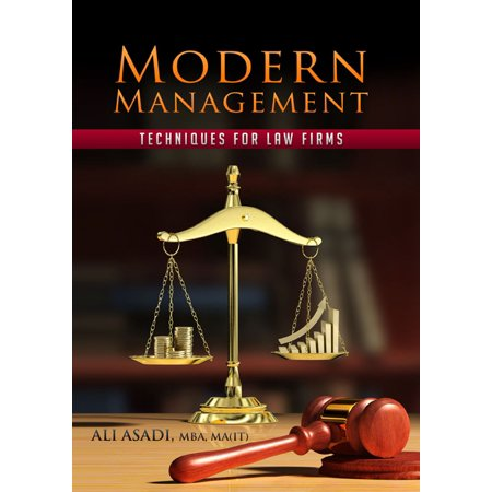 Modern Management Techniques for Law Firms -