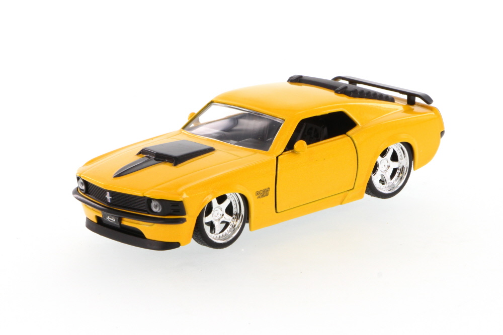 1970 Mustang Boss 429, Yellow Jada Toys 96941 1 32 scale Diecast Model Toy Car (Brand but... by Jada
