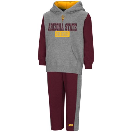 Arizona State Sun Devils Grilling - Toddler Arizona State Sun Devils Pull-over Hoodie and Sweatpants Set - 2T