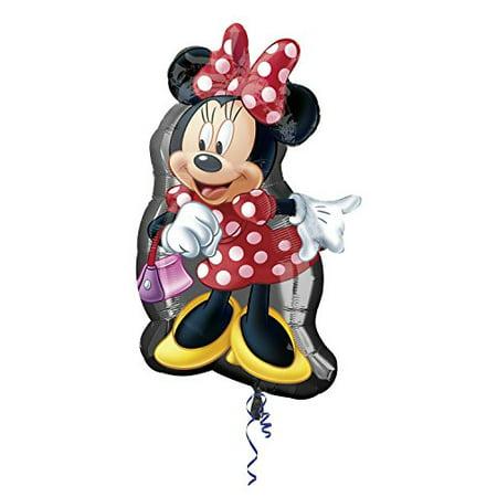 Anagram International 2637401 Minnie Full Body Shop Balloon Pack, - Balloon Shop