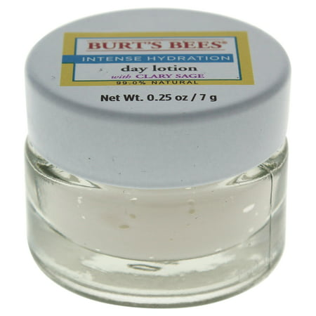 Intense Hydration Day Lotion by Burts Bees for Unisex - 0.25 oz Lotion