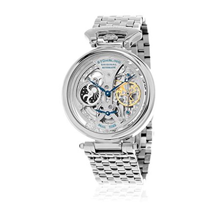 Men's 797.01 Legacy Analog Display Automatic Self Wind Silver Watch