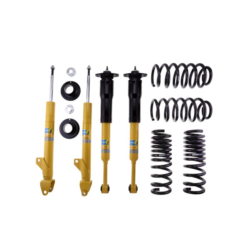 Bilstein B12 (Pro-Kit) 06-10 Dodge Charger V6/V8 2.7L/3.5L/5.7L Front & Rear Suspension Kit
