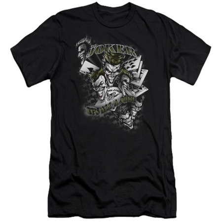 Batman-Its All A Joke - Short Sleeve Adult 30-1 Tee - Black, Large - image 1 of 1