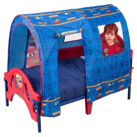 the best attitude 736e7 4d8ef Disney Pixar Cars Tent Toddler Bed