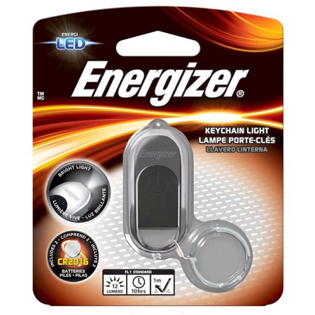 Energizer High Tech LED Keychain Light, Batteries -