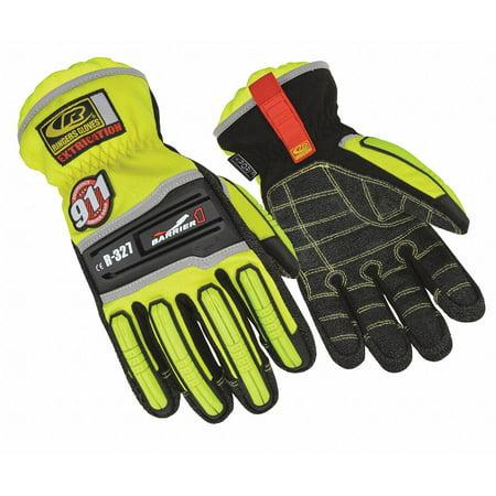 Ringers Gloves Extrication Gloves, Armortex, L, Hi-Vis, Pr L 327-10