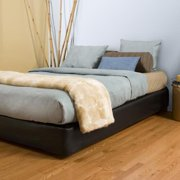 Allan Andrews King-size Black Platform Bed Kit