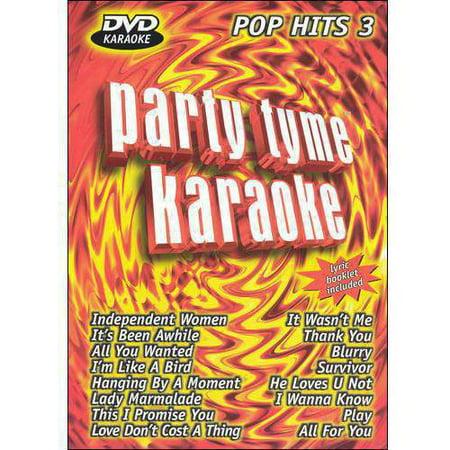 Party Tyme Karaoke: Pop Hits - Volume 3 (Music DVD)