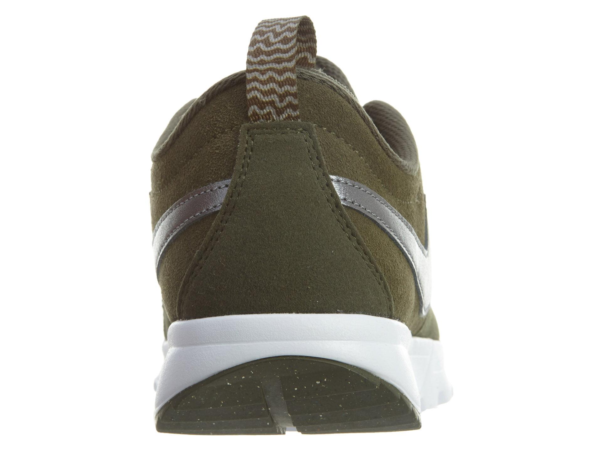 9d9465f34b32 Nike - Mens Nike SB Trainerendor L Cargo Khaki Metallic Cool Grey White  80630 - Walmart.com