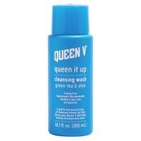 Queen V, Queen it Up Cleansing Wash Green Tea & Aloe, 10.1 fl oz